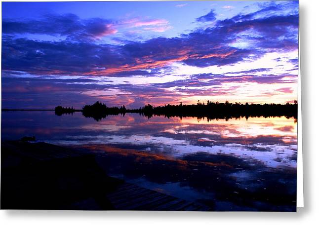 Luis And Paula Lopez Greeting Cards - Beautiful Sunset Greeting Card by Luis and Paula Lopez