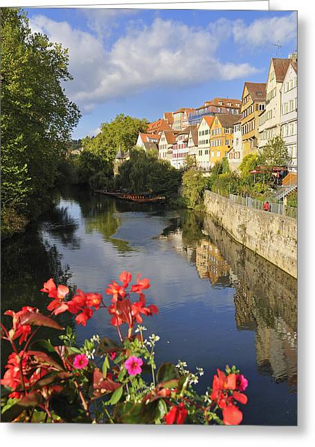 Deutschland Greeting Cards - Beautiful Tuebingen in Germany Greeting Card by Matthias Hauser