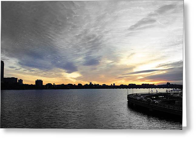 Boston Pyrography Greeting Cards - Beauty in Boston Greeting Card by Jonathan Holland