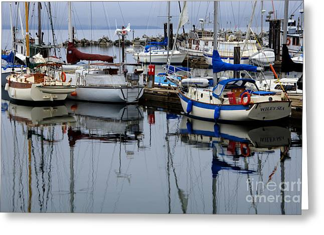 Beauty of Boats Greeting Card by Bob Christopher