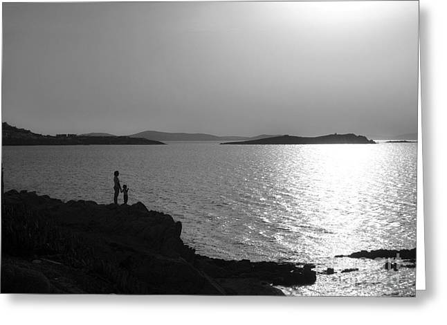 Leda Photography Greeting Cards - Beauty of Mykonos Greeting Card by Leslie Leda