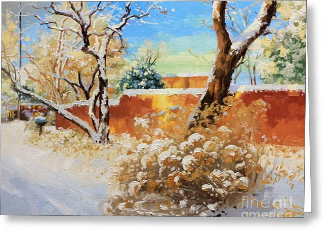 Fineart Greeting Cards - Beauty of winter Santa Fe Greeting Card by Gary Kim