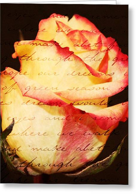 Pictures Of Oregon Greeting Cards - Beauty of words Greeting Card by Cathie Tyler