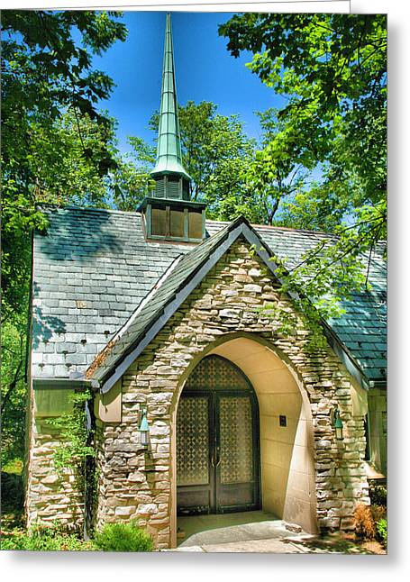 Bloomington Greeting Cards - Beck Chapel Greeting Card by Steven Ainsworth