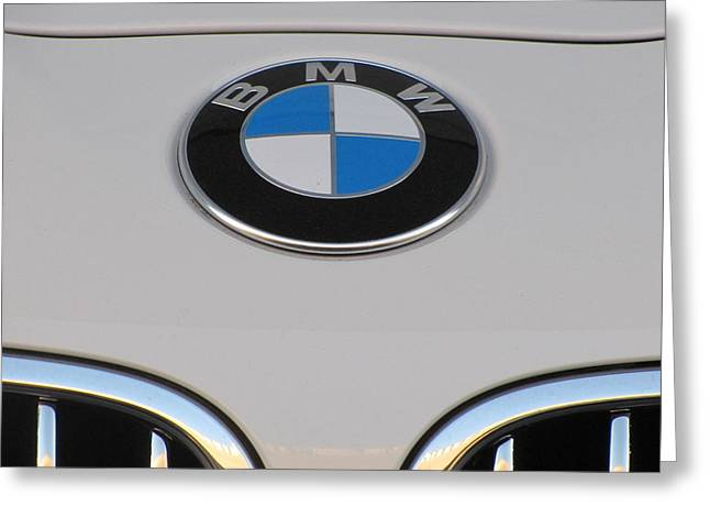 Driving Machine Greeting Cards - Beemer Greeting Card by Shawn Hughes