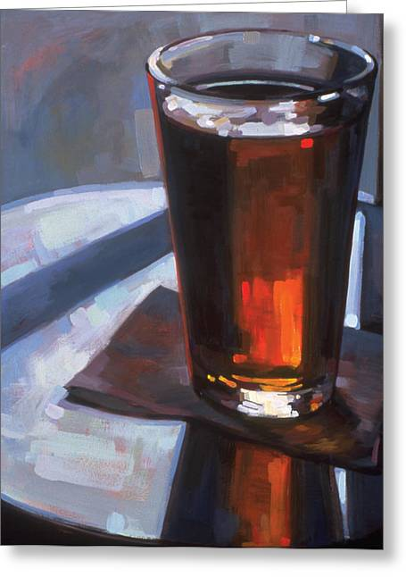 Sell Art Online Greeting Cards - Beer at Vesuvios Greeting Card by Penelope Moore