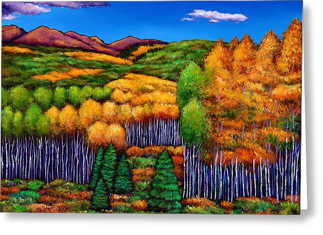 Expressionistic Greeting Cards - Before the Snowfall Greeting Card by Johnathan Harris