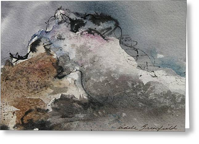 Adele Paintings Greeting Cards - Before The Storm Greeting Card by Adele Greenfield