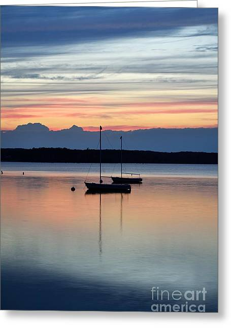 Manasquan Reservoir Greeting Cards - Before The Storm  Greeting Card by Ekaterina LaBranche