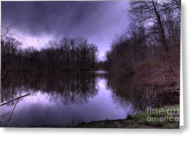Approaching Storm Greeting Cards - Before the Storm Greeting Card by Paul Ward