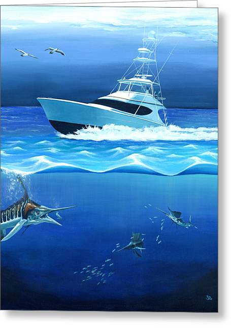 Wahoo Greeting Cards - Before The Storm Greeting Card by Sandra Camper