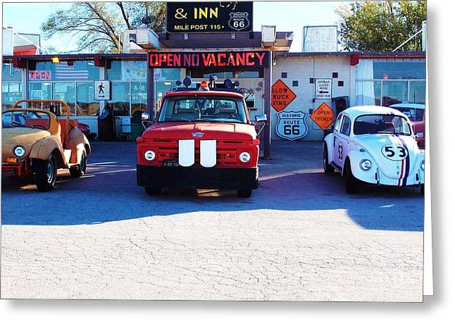 The Love Bug Greeting Cards - Before They Were Famous Greeting Card by Vicki Lomay