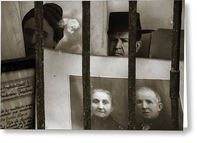 Behind Bars Greeting Card by RicardMN Photography