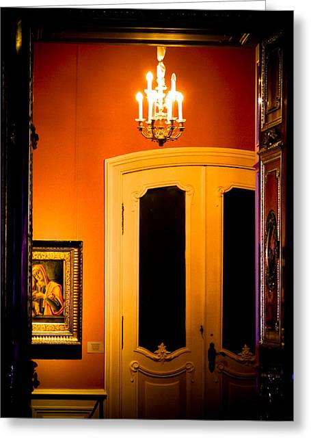 The Hermitage Greeting Cards - Behind closed doors Greeting Card by Nelieta Mishchenko