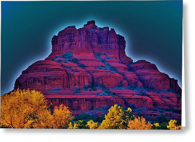 Bell Rock Greeting Cards - Bell Rock Greeting Card by Helen Carson