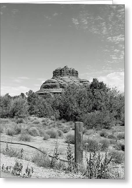 Bell Rock Greeting Cards - Bell Rock Greeting Card by Lauri Novak