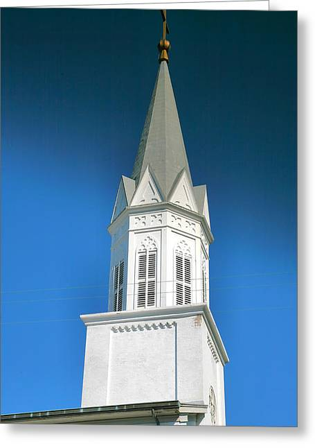 Spire Framed Prints Greeting Cards - Bell Tower I Greeting Card by Steven Ainsworth