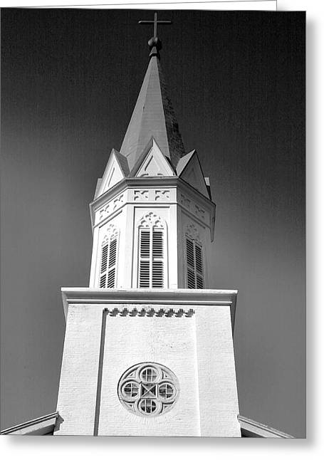 Spire Framed Prints Greeting Cards - Bell Tower II Greeting Card by Steven Ainsworth