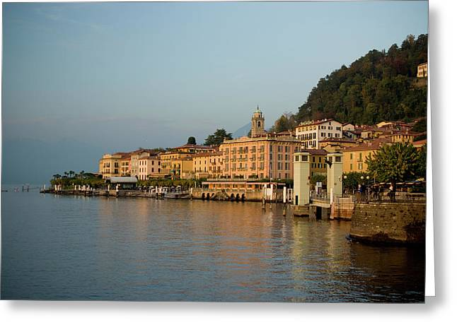 Bellagio Approach Greeting Card by Chuck Parsons