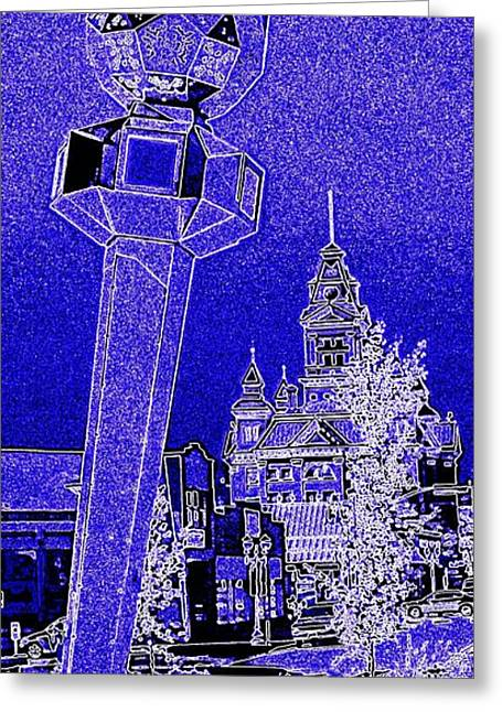 Cupula Greeting Cards - Bellingham Blues Greeting Card by Randall Weidner