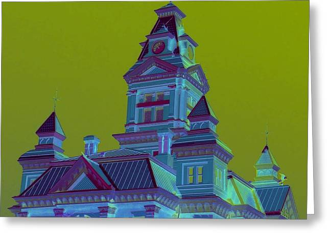 Cupula Greeting Cards - Bellingham Old City Hall Greeting Card by Randall Weidner