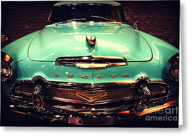 Desoto Car Greeting Cards - Bello Desoto  Greeting Card by Susanne Van Hulst
