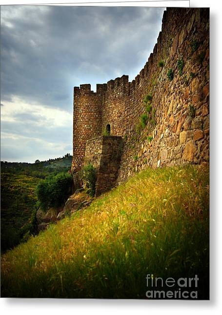Middle Age Greeting Cards - Belver Castle Greeting Card by Carlos Caetano