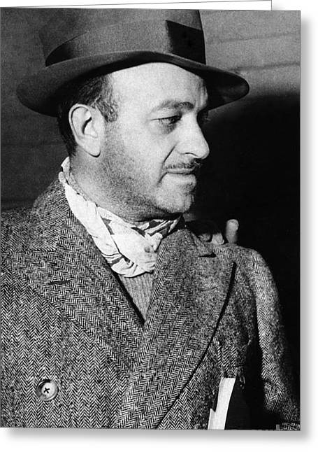 Neckerchief Greeting Cards - Ben Hecht (1894-1964) Greeting Card by Granger