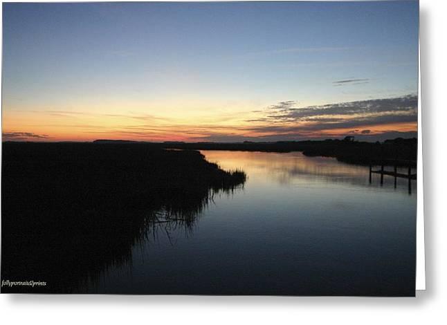 Bonnes Eyes Fine Art Photography Greeting Cards - Bend in the River Greeting Card by Bonnes Eyes Fine Art Photography