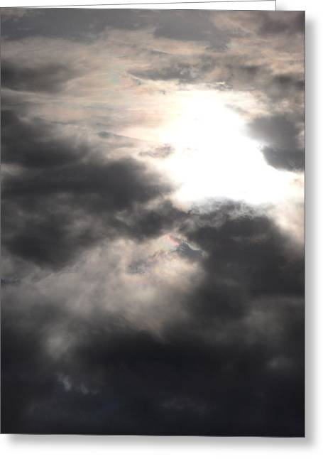Beneath The Clouds Greeting Card by James Barnes