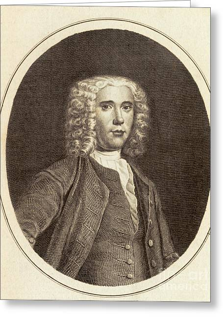 1704 Greeting Cards - Benjamin Martin, English Inventor Greeting Card by Science Source