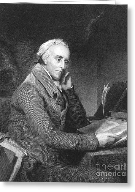 Signatories Greeting Cards - Benjamin Rush Greeting Card by Photo Researchers
