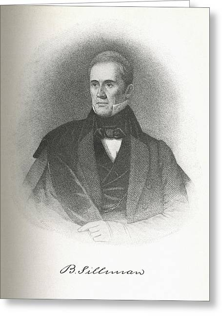 First Black President Greeting Cards - Benjamin Silliman, Us Chemist Greeting Card by Science, Industry & Business Librarynew York Public Library