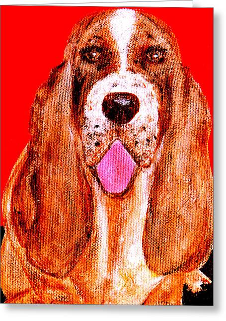 Benny Boy Greeting Card by Forartsake Studio