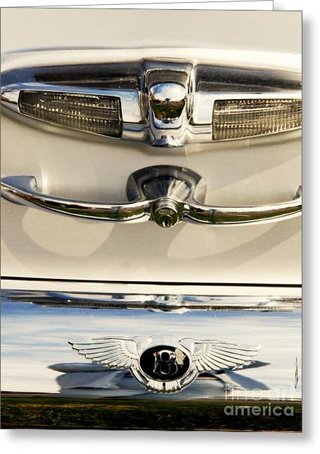 Auction Greeting Cards - Bentley Details Greeting Card by Susanne Van Hulst