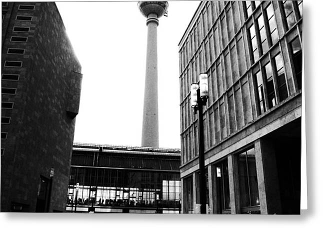 Berlin street photography Greeting Card by Falko Follert