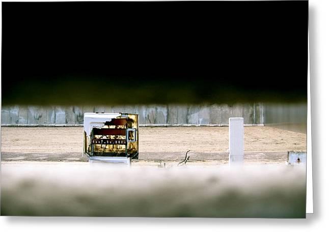 Berlin Wall Greeting Cards - Berlin Wall Greeting Card by Ariane Moshayedi