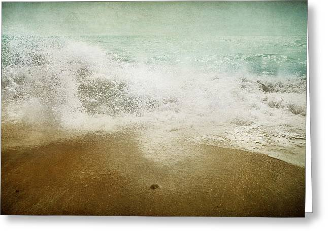 Landsape Greeting Cards - Beside the Sea I Greeting Card by Sharon Johnstone