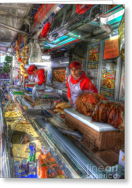 Food Kiosk Greeting Cards - Best In Town Greeting Card by Clint Hudson