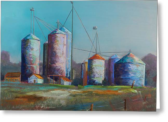 Farming Pastels Greeting Cards - Bethany Beach Road Trip II Greeting Card by David  Beers