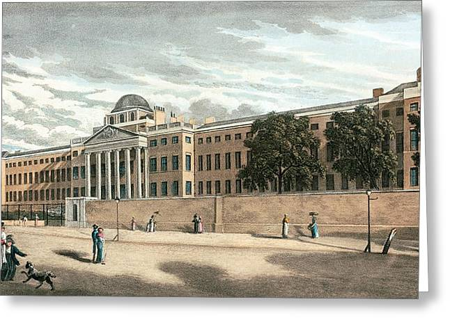 Mental Institution Greeting Cards - Bethlem Royal Hospital, Southwark, London Greeting Card by Miriam And Ira D. Wallach Division Of Art, Prints And Photographsnew York Public Library