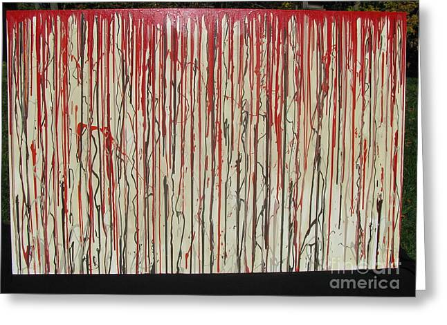 Congressman Paintings Greeting Cards - Betrayal Greeting Card by Jacqueline Athmann
