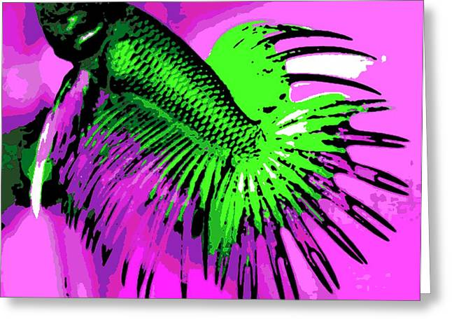 Betta Greeting Cards - Betta Greeting Card by George Pedro