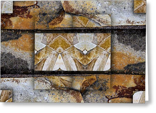 Geology Photographs Greeting Cards - Between Tides Number 11 Greeting Card by Carol Leigh