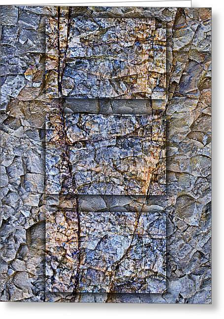 Geology Photographs Greeting Cards - Between Tides Number 13 Greeting Card by Carol Leigh