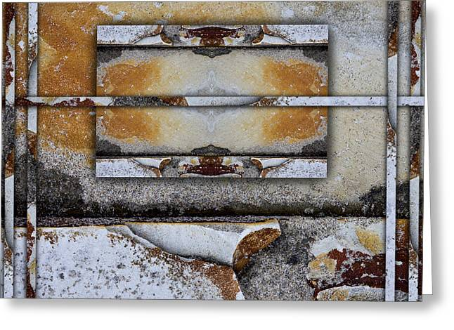 Geology Photographs Greeting Cards - Between Tides Number 9 Greeting Card by Carol Leigh