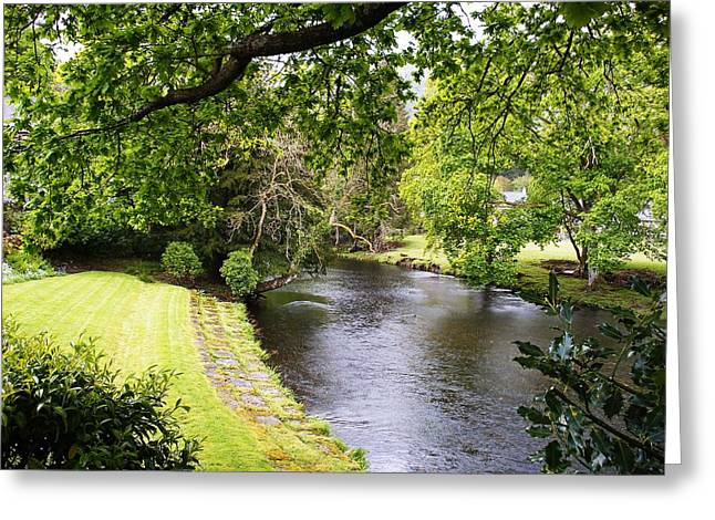 Green Day Greeting Cards - Betws - y - coed Greeting Card by Lucia Del