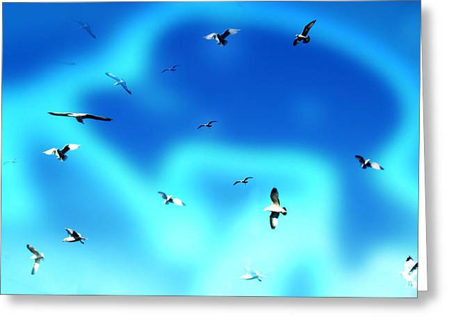 Meditative Art Greeting Cards - Beyond Greeting Card by Patricia Motley