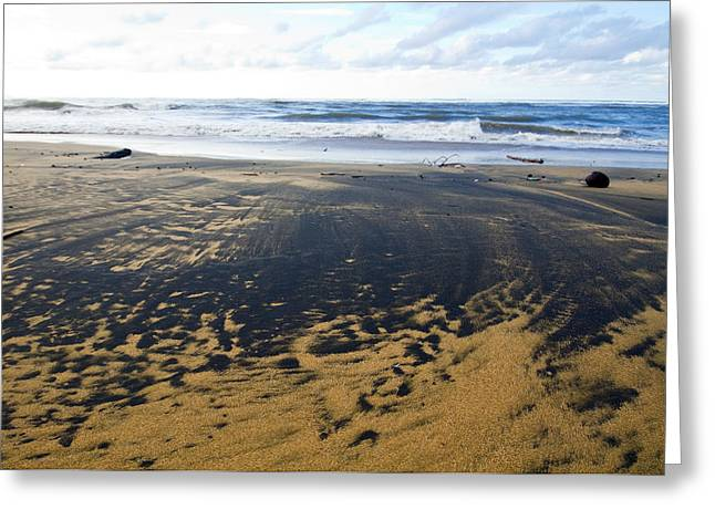 Best Sellers -  - Rincon Beach Greeting Cards - Bi Color Beach  Greeting Card by Tim  Fitzwater