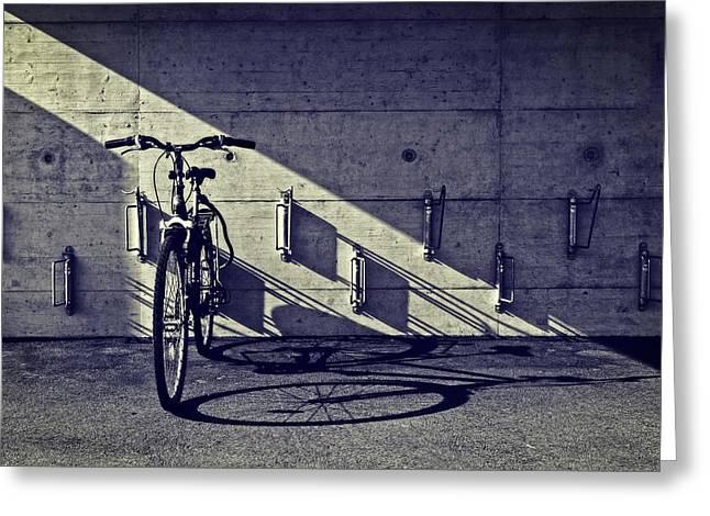bicycle Greeting Card by Joana Kruse